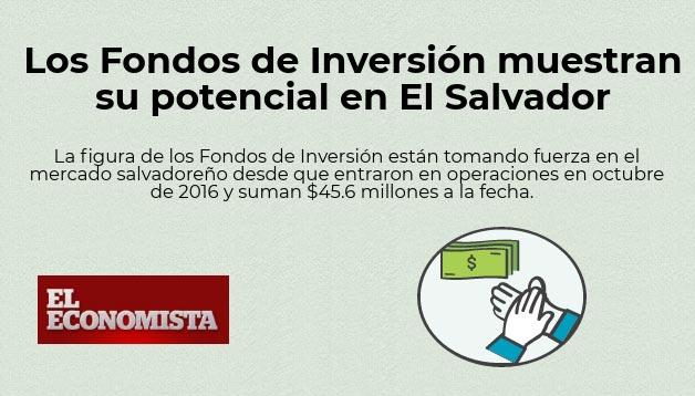 Crece la Oferta de Fondos de Inversión en El Salvador