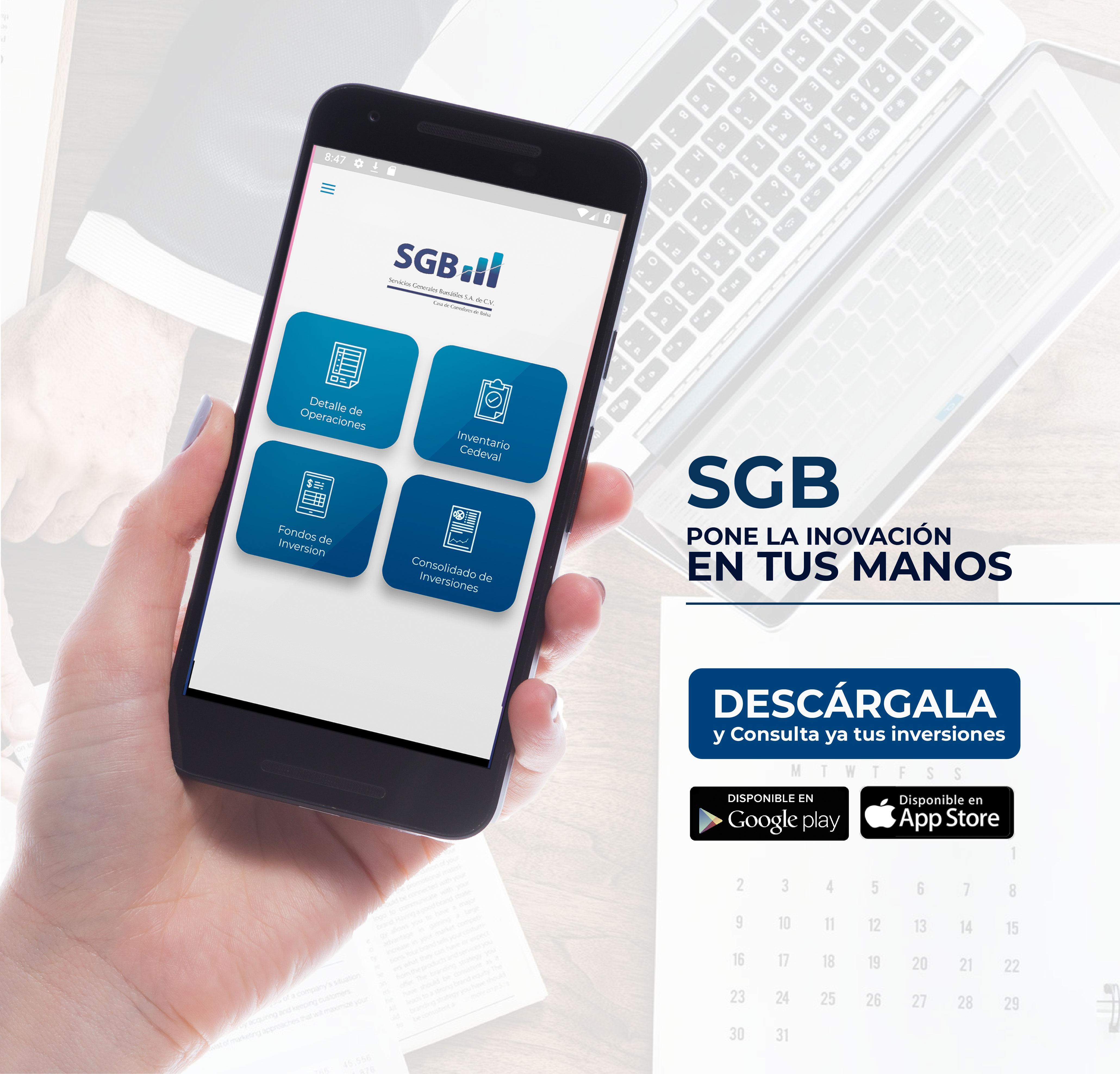 ¡La primera Casa de Corredores de Bolsa con una Aplicación Móvil en El Salvador!