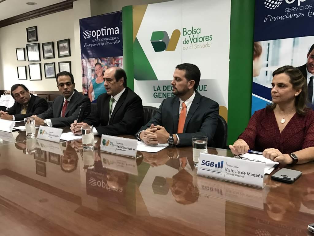 El Salvador: Optima Servicios Financieros emitió US$5MM en papeles bursátiles